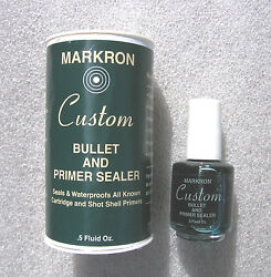 Bullet And Primer Sealer - Waterproofs Your Ammo - Reloading - For Rcbs Lee And More