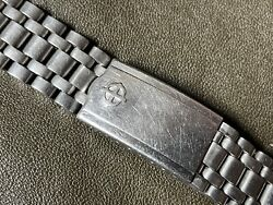 Vintage Zodiac Jb Champion Sea Wolf Aerospace Bracelet 17-18mm - No End Links