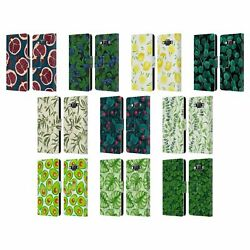 Katerina Kirilova Fruits And Foliage Patterns Leather Book Case For Samsung 2