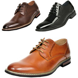Mens Dress Shoes Formal Leather Lined Oxfords Shoes Us Size 6.5-15