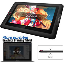 Graphics Drawing Tablet Monitor 13.3 Pen Display Animation Art With Tilt Stylus