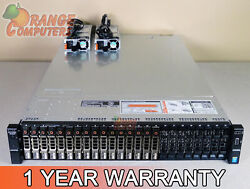 Dell R730xd 12-core Server 2x E5-2620 V3 2.4ghz 64gb-8 16x 600gb 15k Sas H730