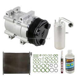 For Ford F-250 And F-350 Super Duty Oem Ac Compressor W/ Condenser Drier Tcp