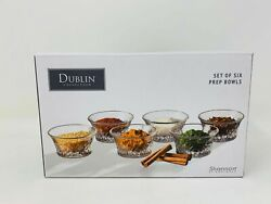 Dublin Collection Shannon By Godinger Set Of Six Prep Bowls