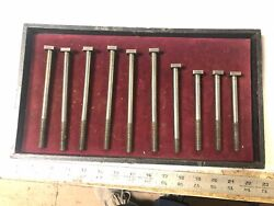 Machinist Lathe Mill Lot Of Moore Tools Jig Bore T Slot Bolts Hold Down Tool Drq