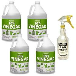 128 Oz. 30 Cleaning Vinegar Concentrate 4-pack And 32 Oz. Spray Bottle