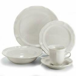 French Countryside 40-piece Dinnerware Set Service For 40-piece Set Brown Box