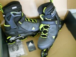 Rollerblade Macroblade 80 Fitness Recreational Inline Skate Mens Size 9.0 New