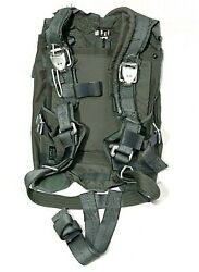 Us Military 65k1533 Personnel Parachute Pack Tray Harness Aircraft Bailout Usaf