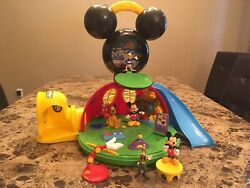 Mickey Mouse Clubhouse Play Set Disney World Disney Land Exclusive Retired Toys