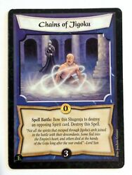Chains Of Jigoku L5r Legend Of The Five Rings Ccg Soul Of The Empire