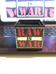 Wwf Monday Night Raw Official Microphone Cube Rare Vintage Wwe Austin Mcmahon