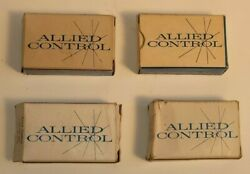 Lot Of 4 Allied Avionic Control Switches Airplane