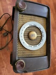 Vintage Zenith Antique Radio Tube Chassis 6g05 Parts Or Repair Complete
