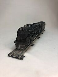 Lionel 2025 Locomotive And 6466wx Tender + 2pc. O Gauge Straight Track Untested