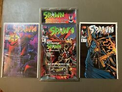 Spawn Comic Books 2 ,7, And Mobil Spawn Car With 8 Book Sealed