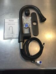 Flow Standard Kitchen Faucet 1-handle Pull Down Deckplate Oil Rubbed Bronze P3