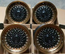 Roues Alliage X 4 16 Bronze Rs Pour Audi 80 90 100 Ford Mazda 121 2 Volvo