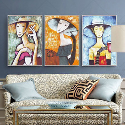 100 Handmade Oil Painting Art Wall Home Decoration 2021 Room Top Hot