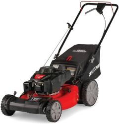 Craftsman 21-inch 3-in-1 High-wheeled Fwd Self-propelled Gas Powered Lawn Mower