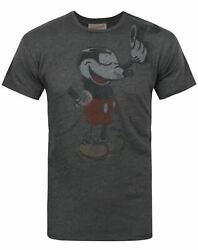 Junk Food Mickey Mouse Heads Off Menand039s T-shirt