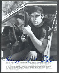 Don Stroud - 8x10 Signed Autograph Movie Still - Lights Went Out In Georgia