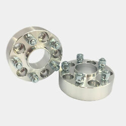 2 Hubcentric 5x5 5x127 Wheel Spacers | 14x1.5 Studs | 1.5 38mm Thick Used