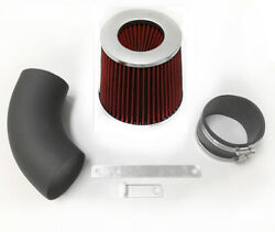 Coated Black Red For 2009-2010 Chevy Aveo Aveo5 1.6l L4 Air Intake System Kit