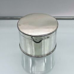 George V Sterling Silver Biscuit Box Edinburgh 1922 Hamilton And Inches