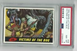 1962 Topps-mars Attacks - Victims Of The Bug 38 - Psa 8 Nm-mt