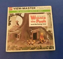 Color B362 Disney Winnie The Pooh And The Honey Tree Film View-master Reels Packet