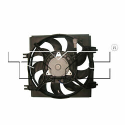Tyc 611390 A/c Condenser Fan Assembly For 08-13 Subaru Forester Impreza