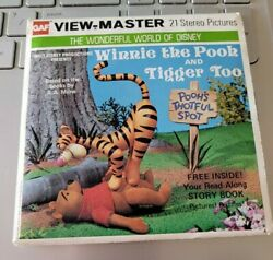 Color B369 Disney Winnie The Pooh And Tigger Too Movie View-master Reels Packet