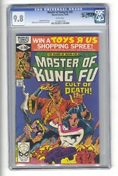 Master Of Kung Fu 93 Cgc 9.8 - Highest Graded - Shang Chi