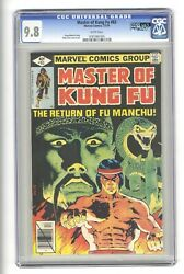 Master Of Kung Fu 83 Cgc 9.8 - Highest Graded Qes - Shang Chi