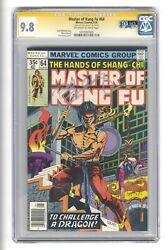 Master Of Kung Fu 64 Cgc 9.8 Gulacy Signature Series - Qes - Highest Graded
