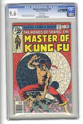 Master Of Kung Fu 71 Cgc 9.6 - Second Highest - Shang Chi