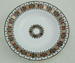 Antique Imperial Russian Porcelain Plate Kuznetsov Factory Hand Painted