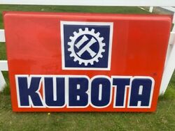 2 Vintage Kubota Tractor 6and039 X 4and039 Sign Skins