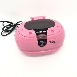 Susan Komen Cancer Cure Sparkle Spa Pink Gemoro Ultrasonic Jewelry Cleaner Rare