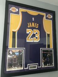 Lebron James Signed Jersey Framed With Coa 100 Will Deliver Locally