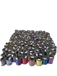 Huge Lot Of Brother Embroidery Thread 99 Spools Polyester Numbered Sewing