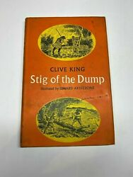 1965 Stig Of The Dump By Clive King / Ardizzone - First Edition Hardback 1st