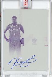 Kevin Durant 2019-20 Panini Contenders Optic Printing Plate Auto 1/1