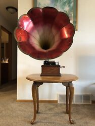 Edison Fireside Model A Cylinder Phonograph In Excellent Condition