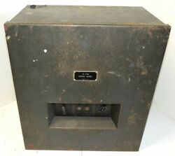Western Electric Ta-7386 Control Cabinet For Use With Ta-7375/ta-7376 Networks