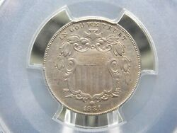 1881 Shield Nickel 5c Pcgs Au Details East Coast Coin And Collectables Inc.