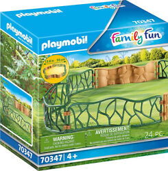 Playmobil Family Fun Zoo Enclosure 70347 for kids 4 years old and up