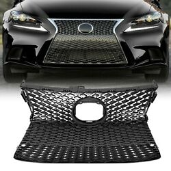 Set FOR 2014 2016 LEXUS IS250 IS350 F SPORT Front Bumper Upper Lower Grille NEW