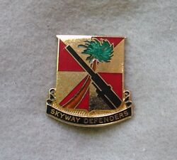 Us Army 56th Anti Aircraft Artillery Aaa Msl Di Dui Crest Pb Meyer 9m Xh17